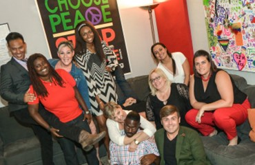 photo of youth group staff